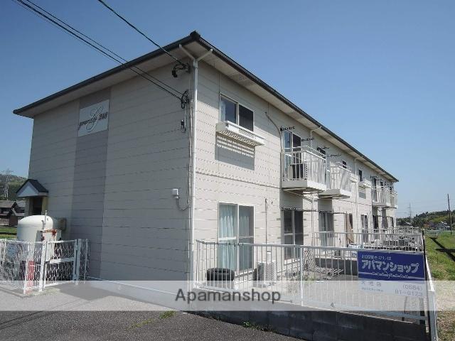 岐阜県不破郡関ケ原町、関ケ原駅徒歩15分の築15年 2階建の賃貸アパート