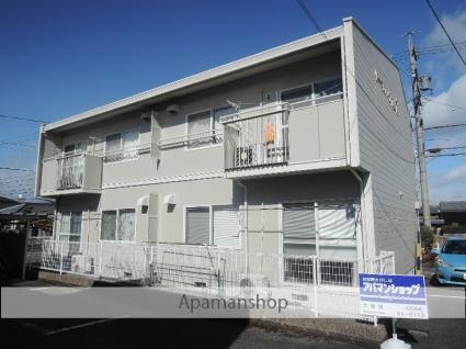 岐阜県大垣市、大垣駅徒歩17分の築27年 2階建の賃貸アパート