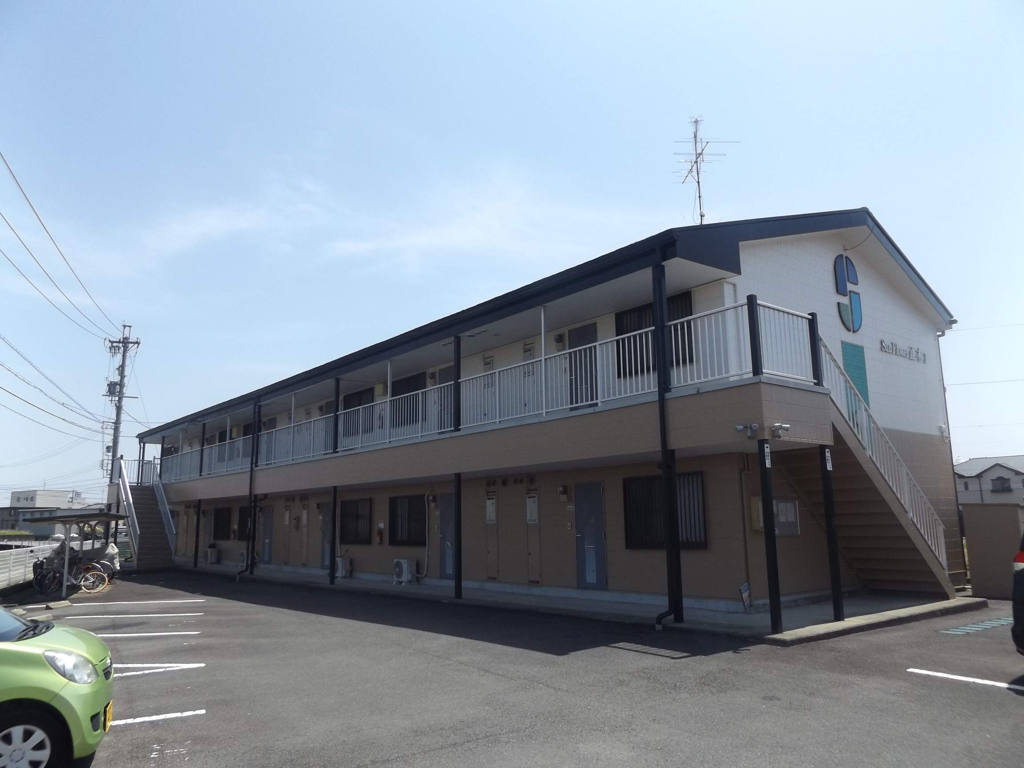 岐阜県羽島市、竹鼻駅徒歩11分の築18年 2階建の賃貸アパート