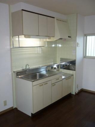 サンシティカーム[3DK/56.28m2]のキッチン