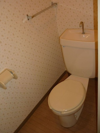 サンシティカーム[3DK/56.28m2]のトイレ