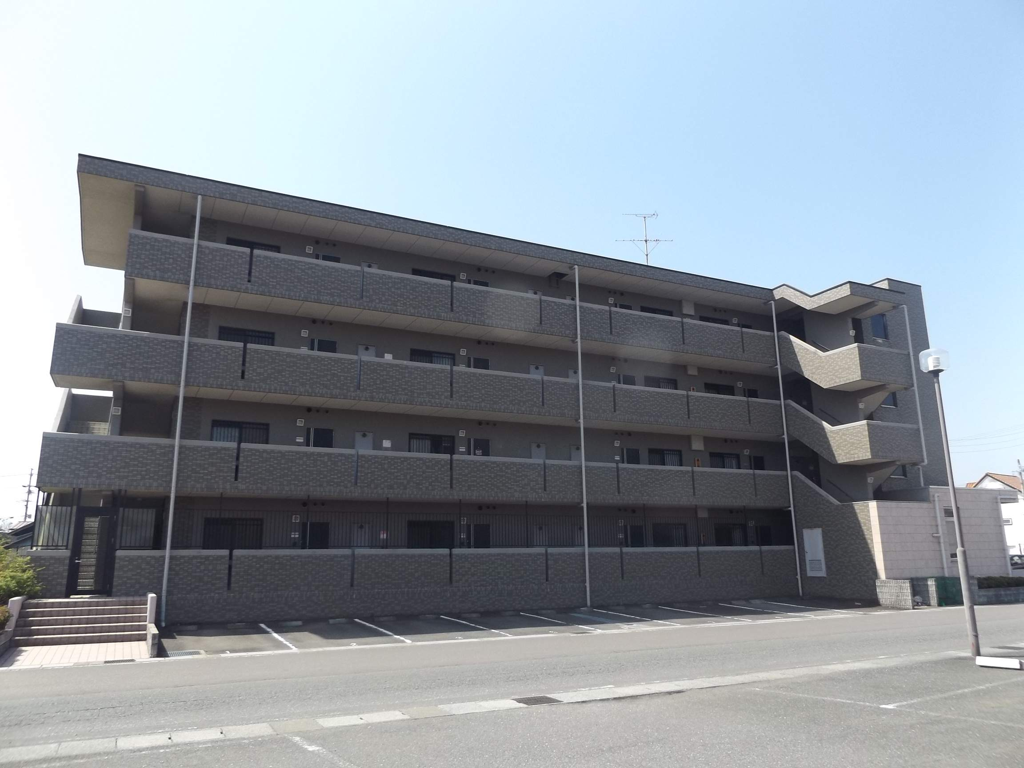 岐阜県羽島市、新羽島駅徒歩9分の築13年 4階建の賃貸マンション