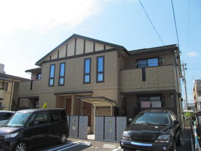岐阜県大垣市の築7年 2階建の賃貸アパート