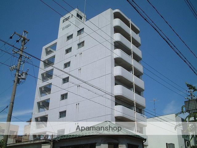 岐阜県大垣市、大垣駅徒歩10分の築26年 9階建の賃貸マンション