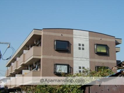 岐阜県大垣市、西大垣駅徒歩15分の築18年 3階建の賃貸マンション
