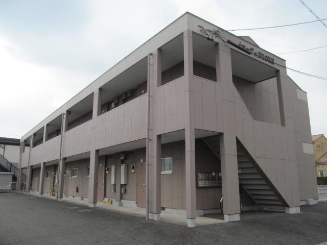 岐阜県大垣市、大垣駅徒歩31分の築23年 2階建の賃貸アパート