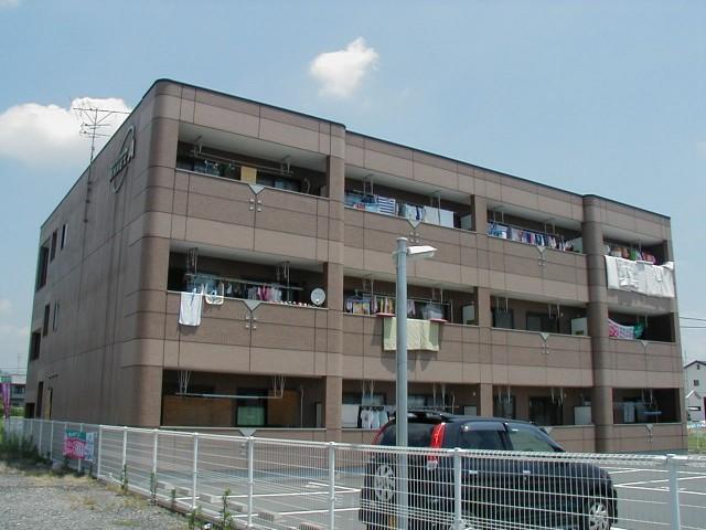 岐阜県揖斐郡大野町の築17年 3階建の賃貸アパート
