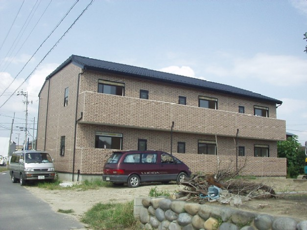 岐阜県羽島市、江吉良駅徒歩16分の築12年 2階建の賃貸アパート