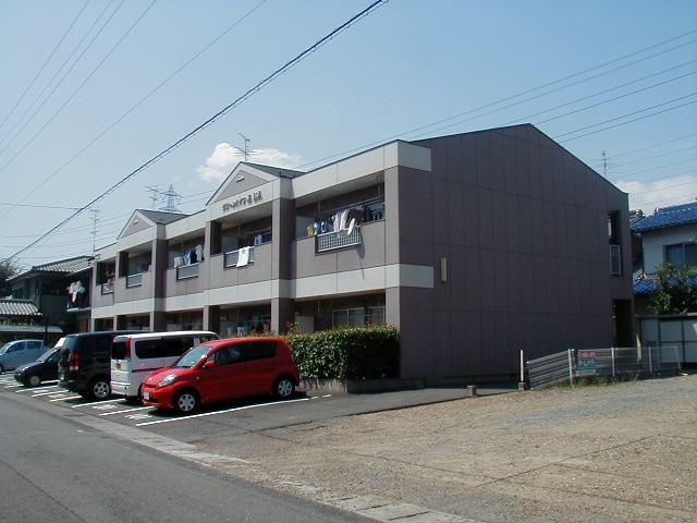 岐阜県瑞穂市の築24年 2階建の賃貸アパート