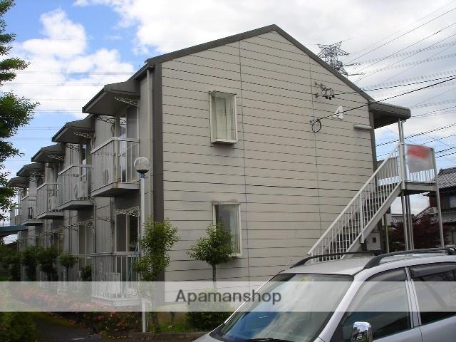 岐阜県岐阜市の築28年 2階建の賃貸アパート