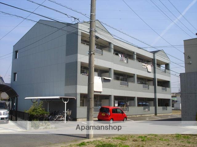 岐阜県岐阜市の築22年 3階建の賃貸アパート