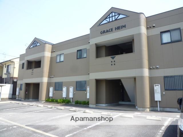 岐阜県瑞浪市、瑞浪駅徒歩12分の築20年 2階建の賃貸アパート