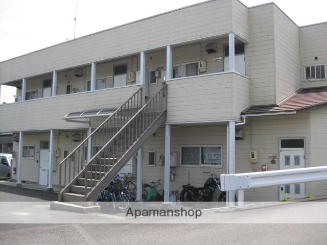岐阜県多治見市の築25年 2階建の賃貸アパート