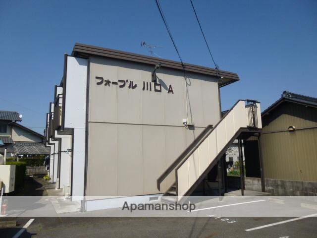 岐阜県多治見市の築27年 2階建の賃貸アパート