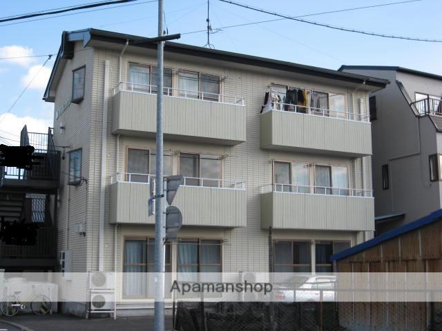 岐阜県多治見市、多治見駅徒歩6分の築26年 3階建の賃貸アパート