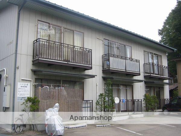 岐阜県高山市、高山駅まちなみバスバス4分アスモ前下車後徒歩4分の築24年 2階建の賃貸アパート