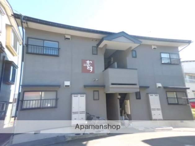 岐阜県高山市、高山駅のらマイカーバス13分中山中学校口下車後徒歩3分の築17年 2階建の賃貸アパート