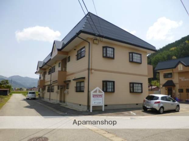 岐阜県高山市、飛騨国府駅徒歩8分の築21年 2階建の賃貸アパート