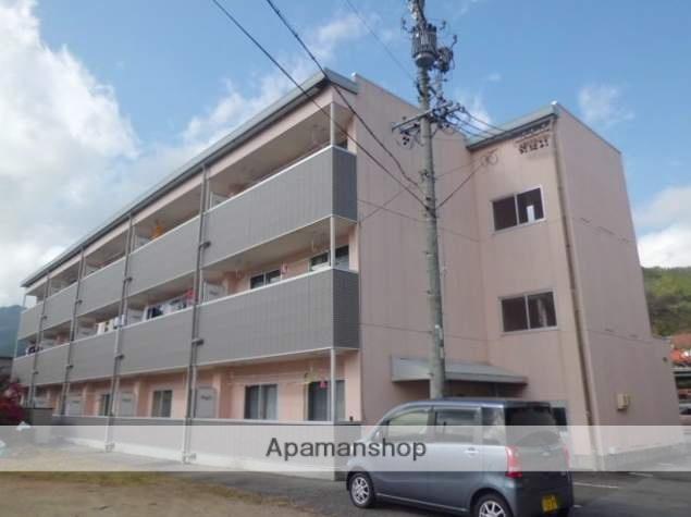 岐阜県高山市、飛騨一ノ宮駅徒歩1分の築19年 3階建の賃貸アパート