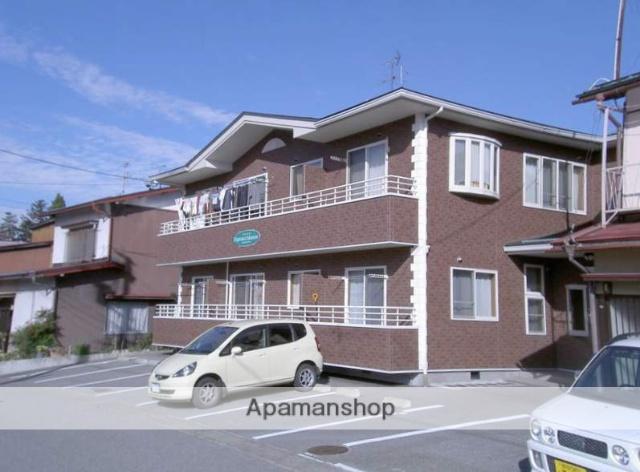 岐阜県高山市、高山駅まちなみバスバス7分バリュー前下車後徒歩4分の築13年 2階建の賃貸アパート
