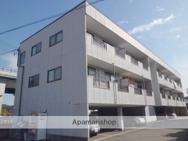 岐阜県高山市、高山駅のらマイカーバス23分上切町上下車後徒歩2分の築16年 3階建の賃貸アパート