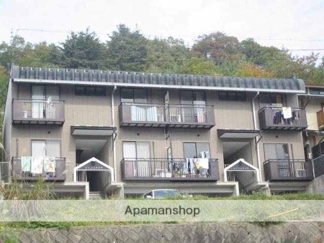 岐阜県高山市、高山駅のらマイカーバス15分緑ヶ丘口下車後徒歩2分の築18年 2階建の賃貸アパート