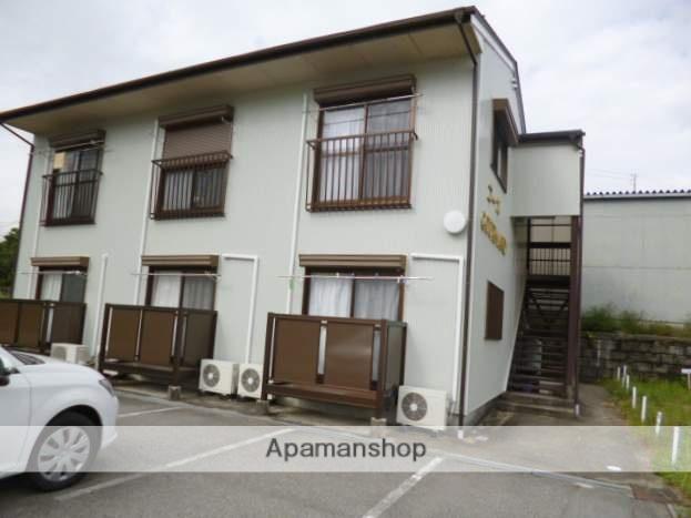 岐阜県下呂市、飛騨萩原駅徒歩8分の築21年 2階建の賃貸アパート