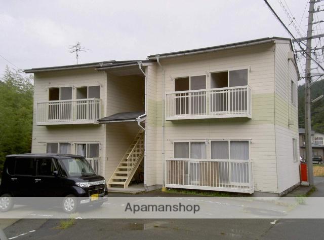岐阜県高山市、高山駅のらマイカーバス25分石浦橋下車後徒歩11分の築25年 2階建の賃貸アパート