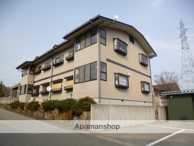岐阜県高山市、高山駅のらマイカーバス15分中山町下車後徒歩4分の築18年 2階建の賃貸アパート