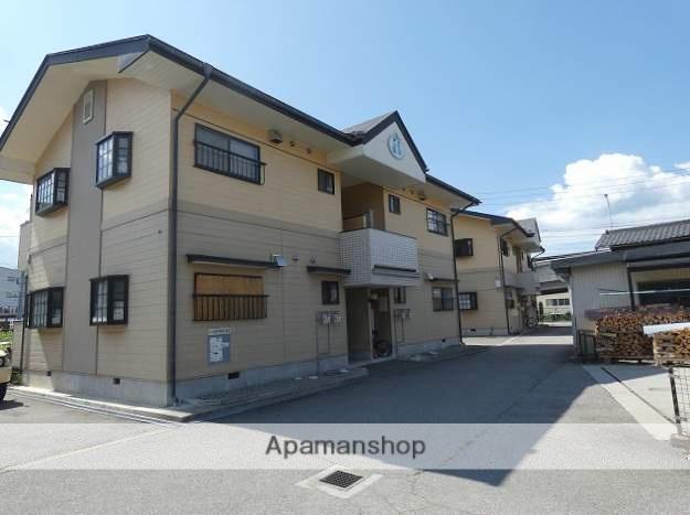 岐阜県高山市、高山駅のらマイカーバス9分下岡本町下車後徒歩2分の築21年 2階建の賃貸アパート