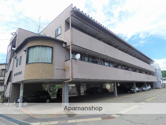 岐阜県高山市、高山駅のらマイカーバス12分斐太高校口下車後徒歩7分の築19年 3階建の賃貸アパート