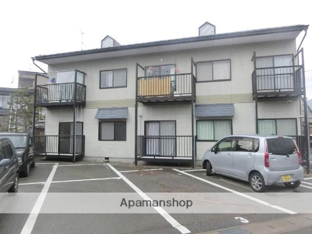 岐阜県飛騨市、飛騨古川駅徒歩3分の築21年 2階建の賃貸アパート