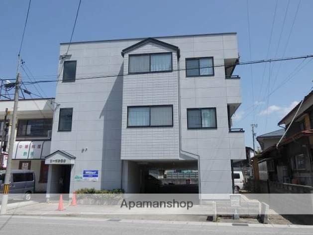 岐阜県高山市、高山駅のらマイカーバス7分桐生町3丁目下車後徒歩1分の築19年 3階建の賃貸アパート