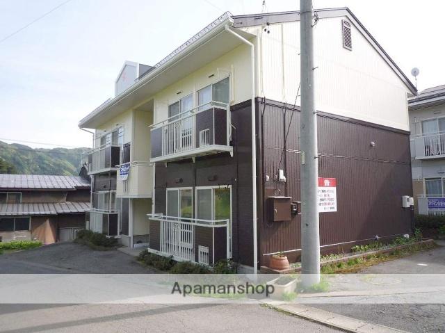 岐阜県高山市、高山駅のらマイカーバス24分高山厚生病院前下車後徒歩1分の築24年 2階建の賃貸アパート