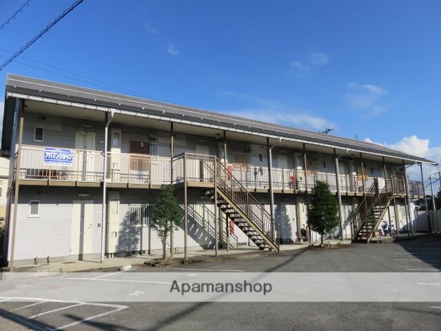 岐阜県高山市、高山駅のらマイカーバス7分グラウンドゴルフ場前下車後徒歩3分の築28年 2階建の賃貸アパート