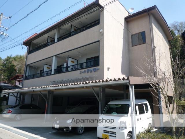 岐阜県高山市、高山駅のらマイカーバス18分松本町南下車後徒歩3分の築23年 3階建の賃貸アパート