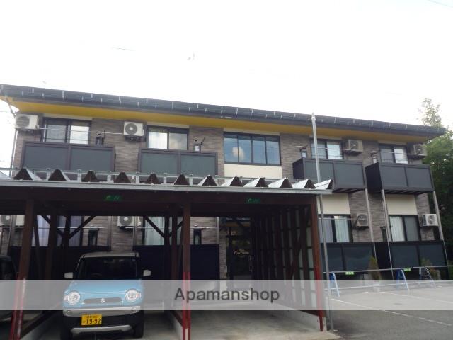 岐阜県高山市、高山駅のらマイカーバス10分ビックアリーナ前下車後徒歩8分の築10年 2階建の賃貸アパート