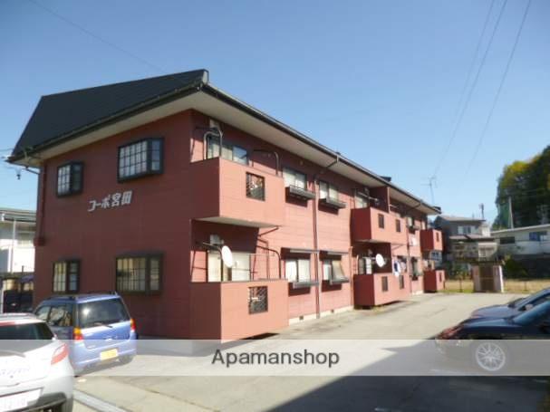 岐阜県高山市、高山駅徒歩25分の築20年 2階建の賃貸アパート