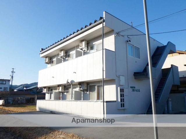 岐阜県高山市、高山駅徒歩18分の築22年 2階建の賃貸アパート