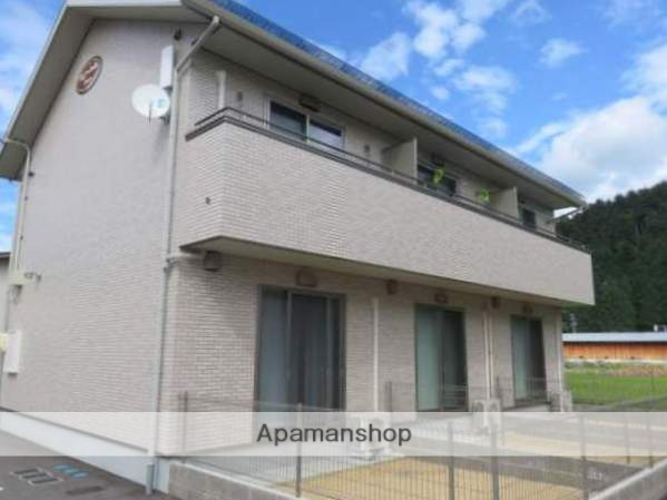 岐阜県高山市、上枝駅徒歩3分の築1年 2階建の賃貸アパート