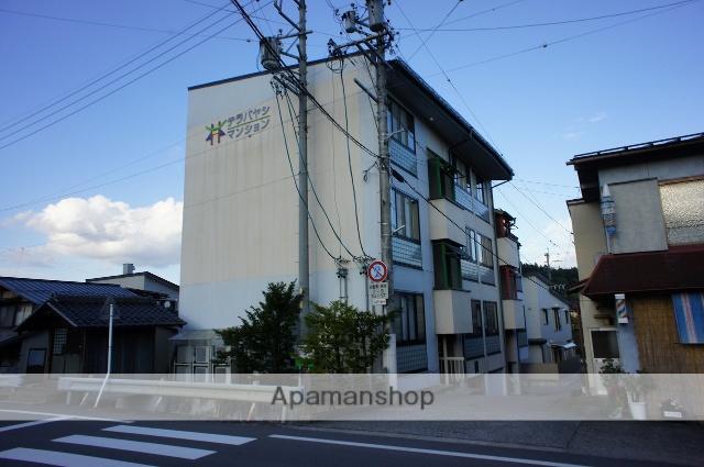 岐阜県高山市、高山駅徒歩17分の築38年 3階建の賃貸アパート