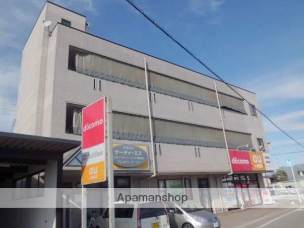 岐阜県高山市、高山駅のらマイカーバス11分ピュア高山前下車後徒歩1分の築18年 4階建の賃貸アパート