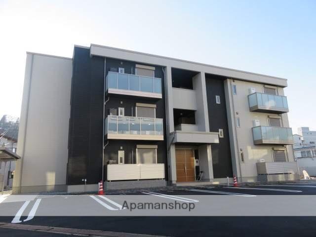 岐阜県高山市、高山駅濃飛バスバス12分学校給食センター前下車後徒歩2分の新築 3階建の賃貸マンション