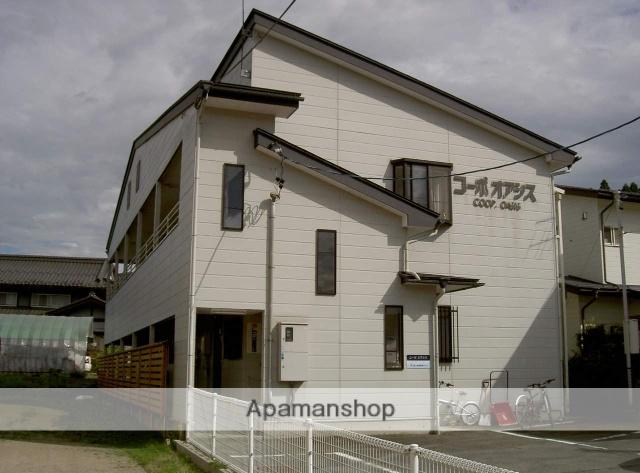 岐阜県高山市、高山駅のらマイカーバス23分新宮下車後徒歩2分の築22年 2階建の賃貸アパート