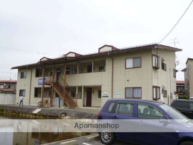 岐阜県高山市、高山駅徒歩17分の築25年 2階建の賃貸アパート
