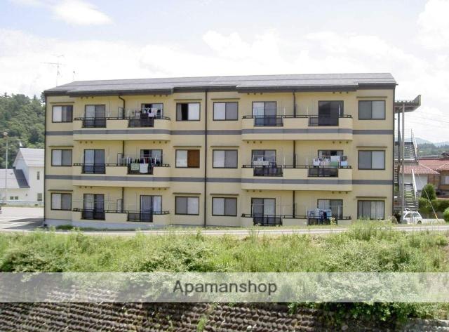 岐阜県高山市、高山駅のらマイカーバス19分西高校北下車後徒歩1分の築15年 3階建の賃貸アパート