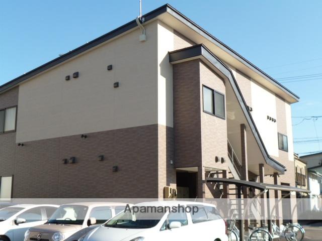 岐阜県高山市、高山駅徒歩10分の築3年 2階建の賃貸アパート