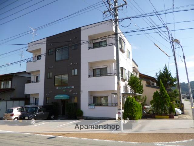 岐阜県高山市、高山駅徒歩16分の築17年 3階建の賃貸アパート