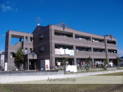 岐阜県各務原市、鵜沼宿駅徒歩11分の築17年 3階建の賃貸アパート