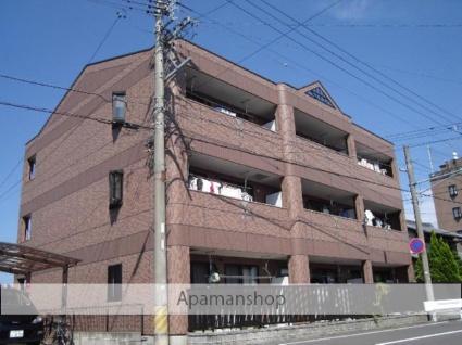 岐阜県各務原市、那加駅徒歩9分の築13年 3階建の賃貸アパート